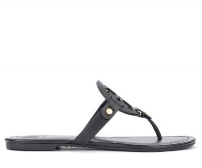 Sandalo Tory Burch Miller in pelle nera