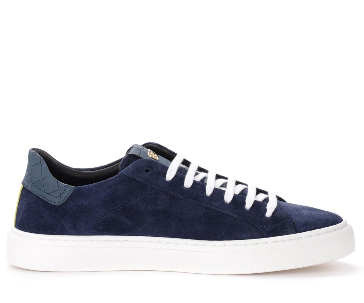 Sneaker Essence Oil in suede blu navy - Hide&Jack - Modalova