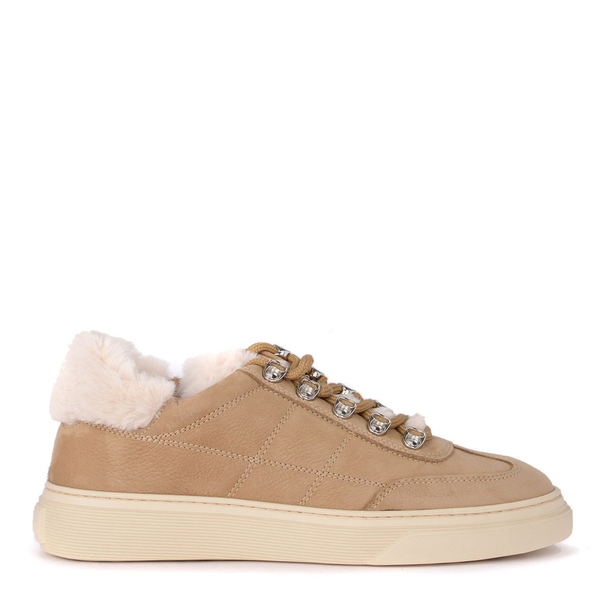 Sneaker HOGAN h365 in Nubuck Cookie and mutton