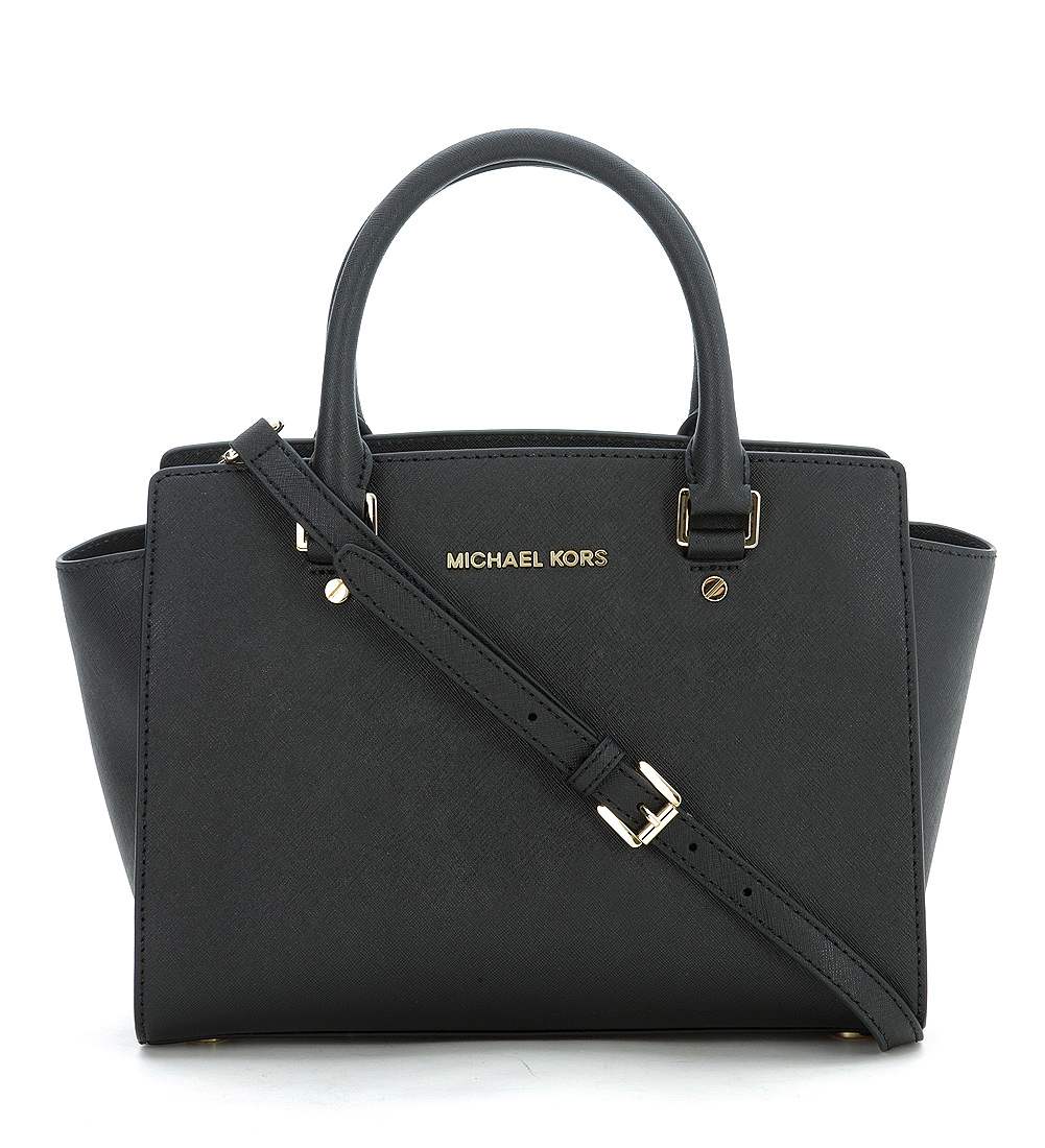 Borsa a mano media michael kors selma in pelle saffiano for Borse michael kors ebay