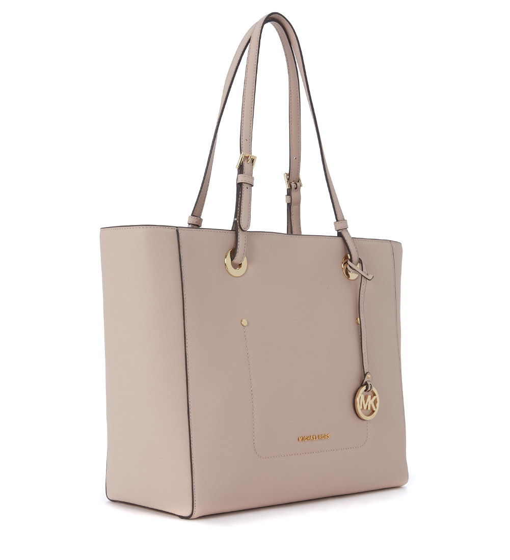michael kors tasche tote bag walsh saffianleder rosa ebay. Black Bedroom Furniture Sets. Home Design Ideas