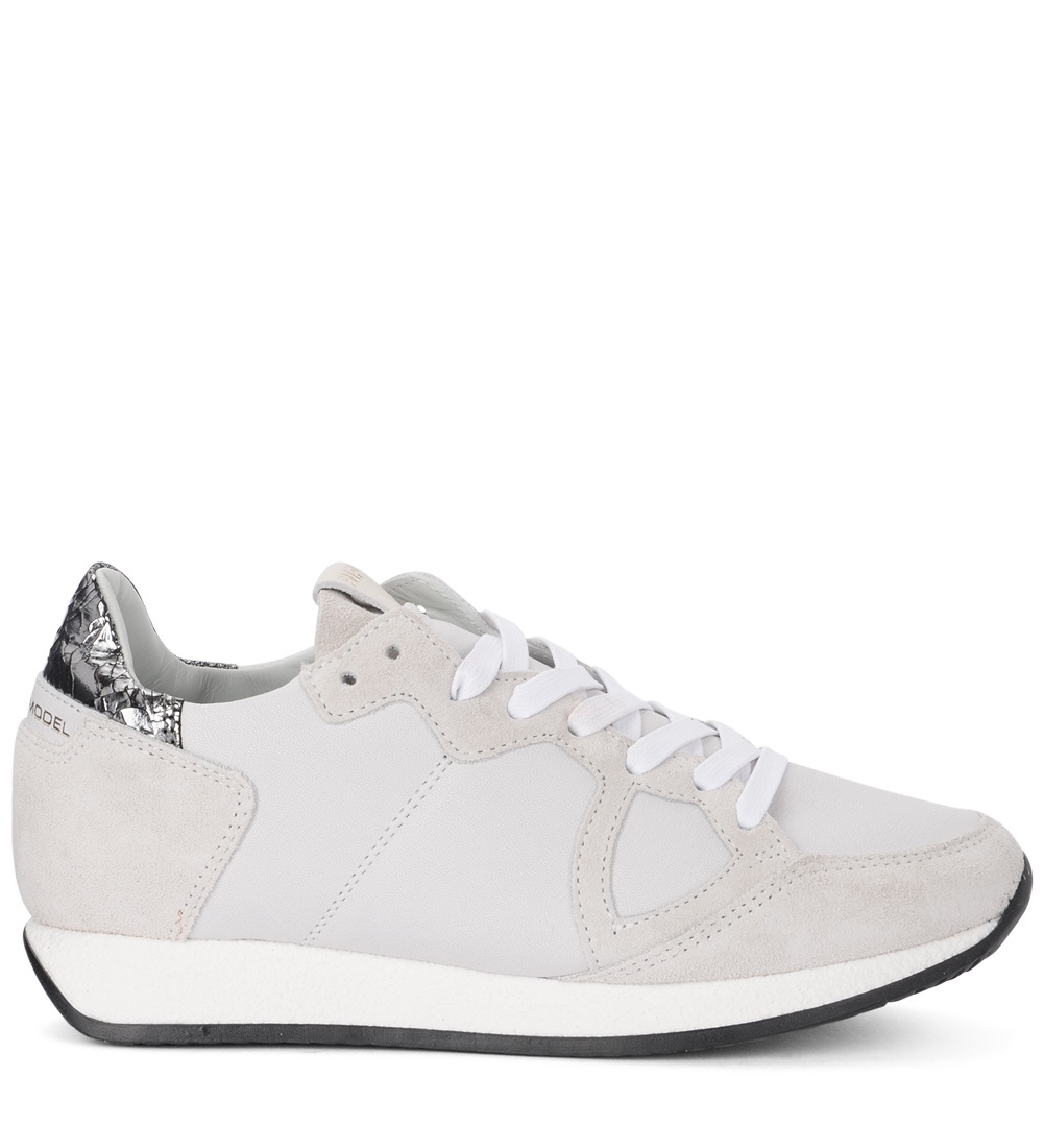 Sneaker Tropez Philippe Model TRLD QV12 in pelle e vernice