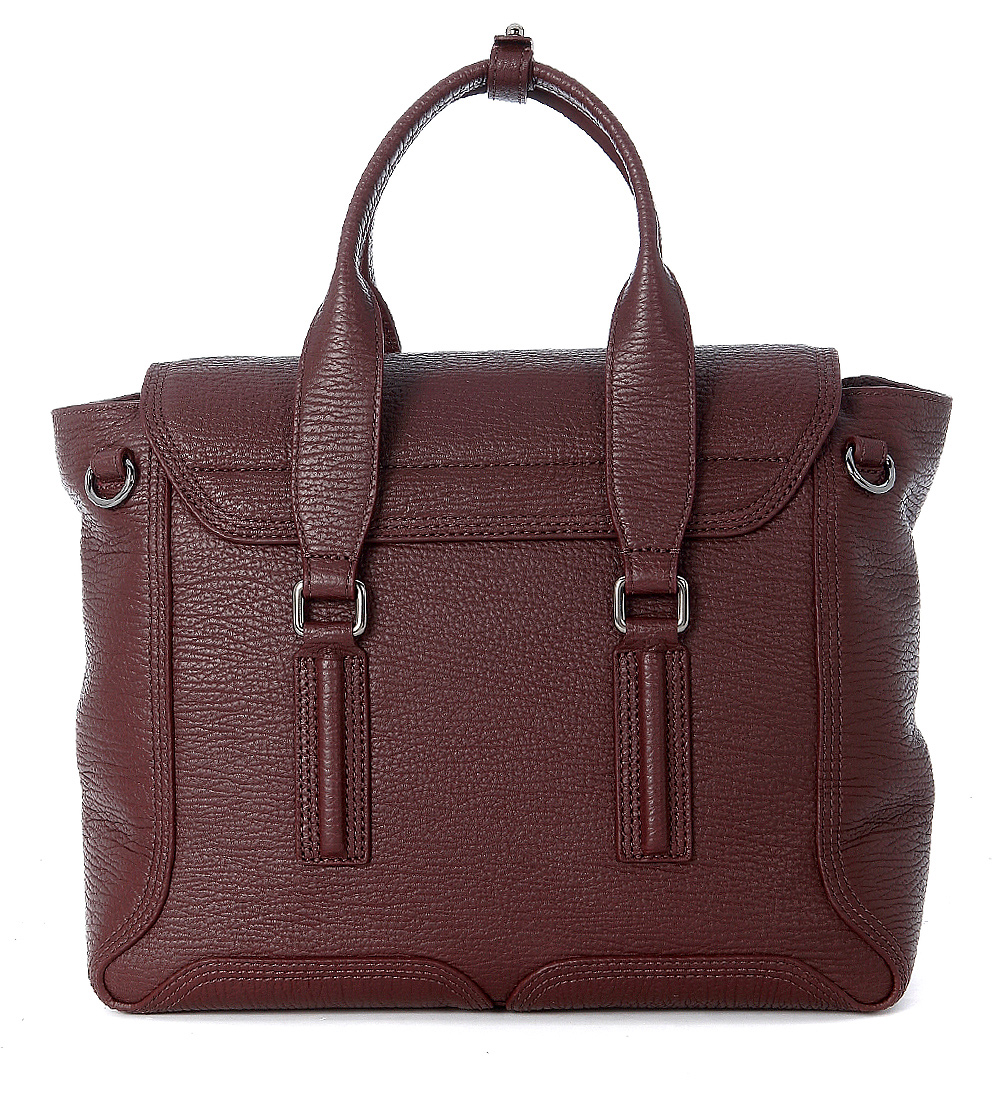 3 1 phillip handtasche lim pashli medium satchel leder in bordeaux dun. Black Bedroom Furniture Sets. Home Design Ideas
