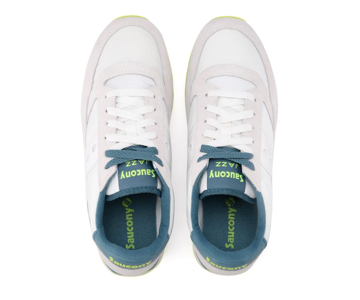 Dettagli su Sneaker Saucony Jazz in suede e nylon grigio e blu