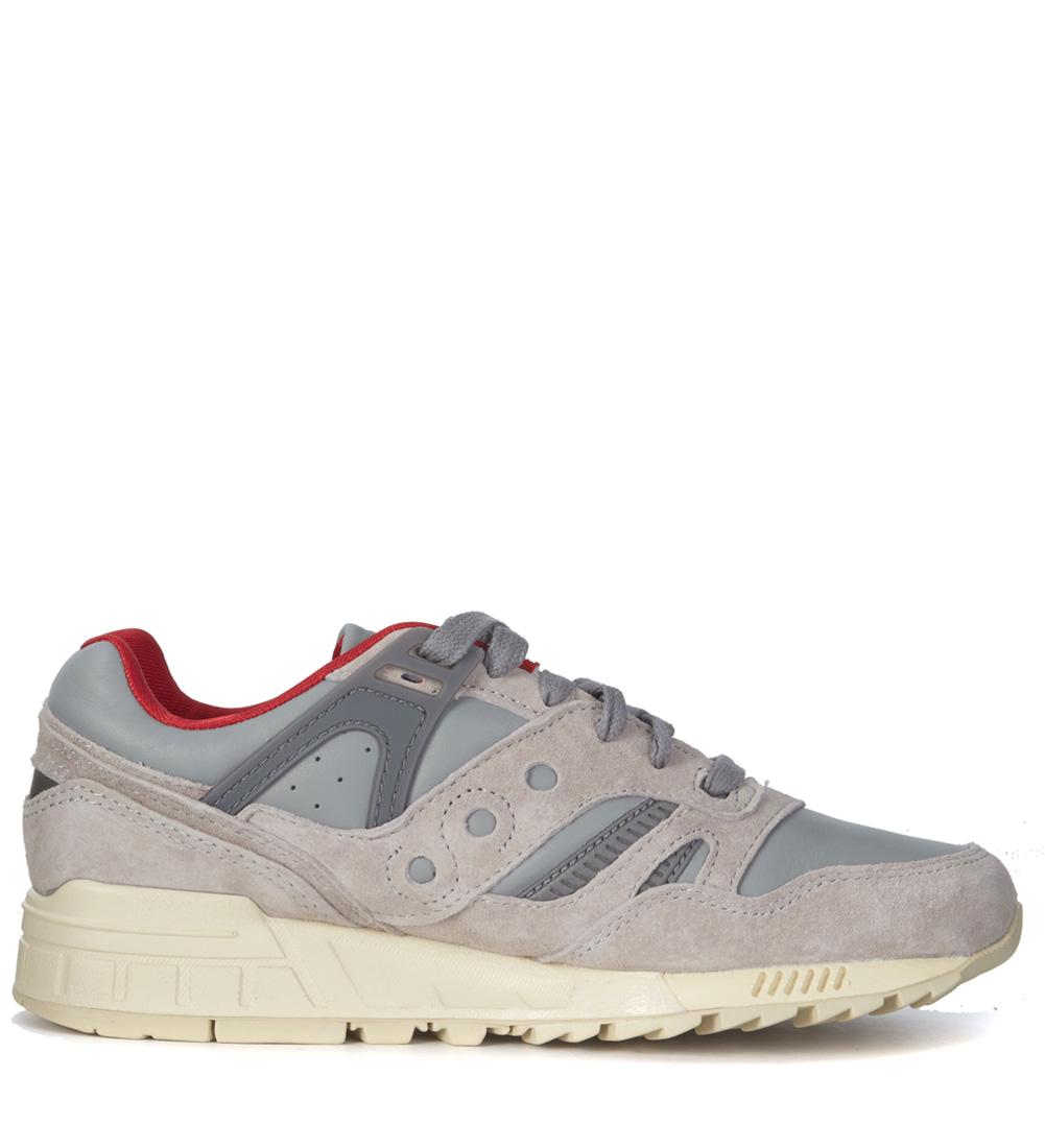 Sneaker Saucony Grid SD HT grigia e blu h-brands grigio Gomma OlhKCil