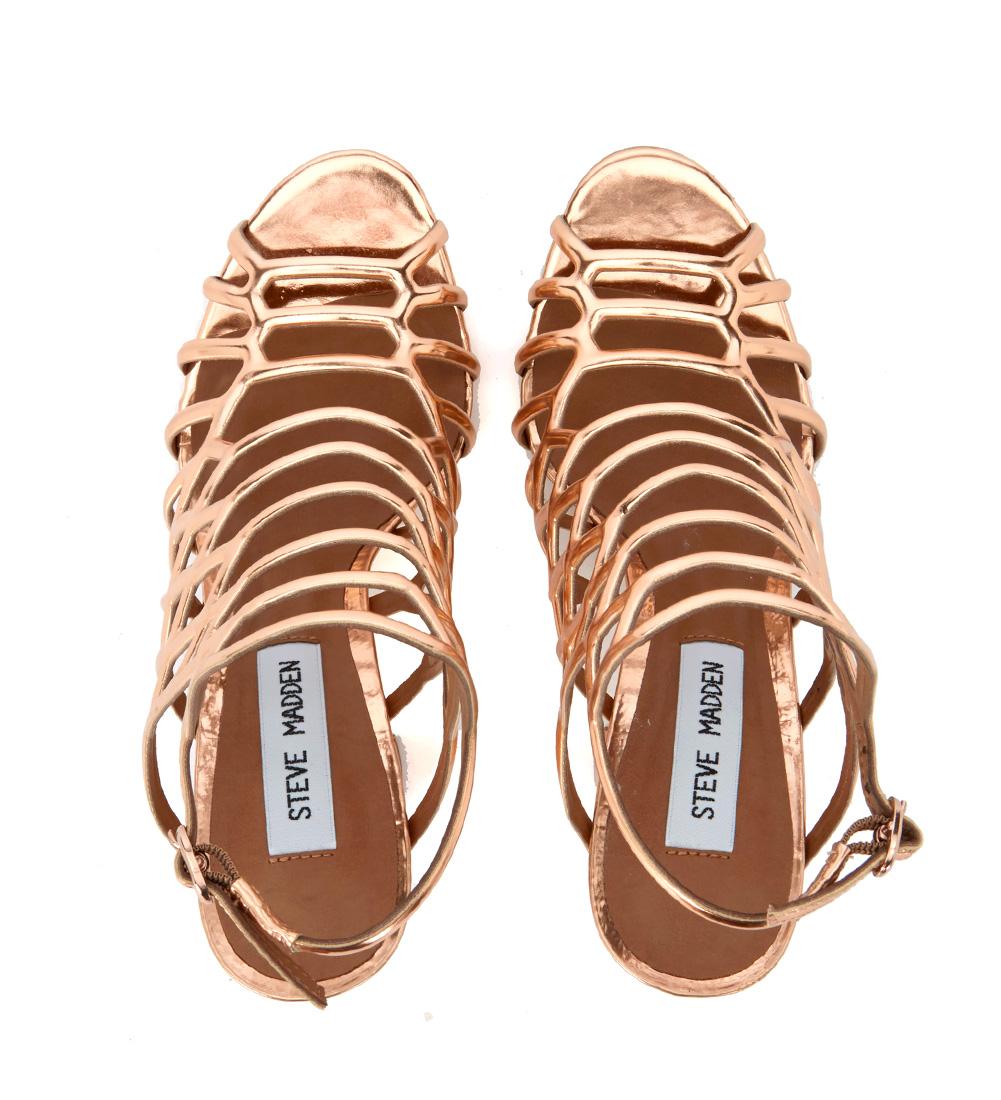 Sandalo-Steve-Madden-Skales-in-pelle-laminata-oro-rosa