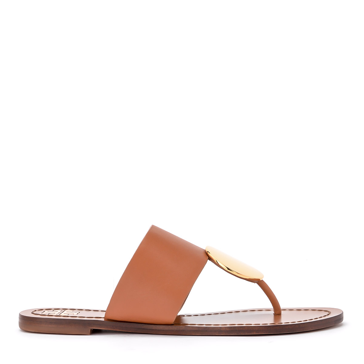 Sandalo Tory Burch Patos in pelle cuoio