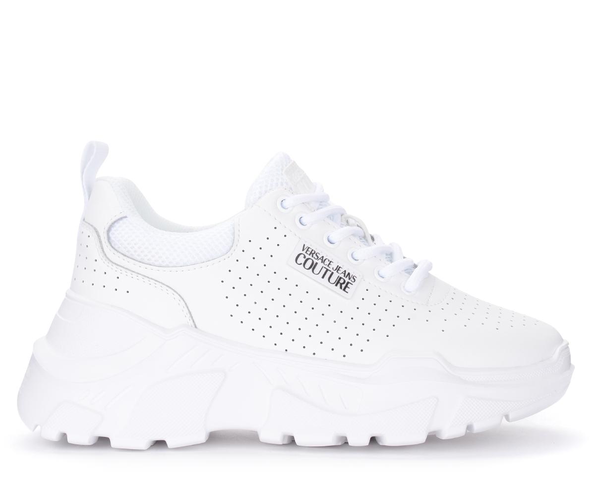 Sneaker Speed in pelle bianca - VERSACE JEANS COUTURE - Modalova