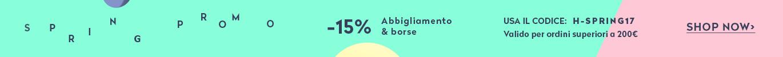 Promo 15% Spring