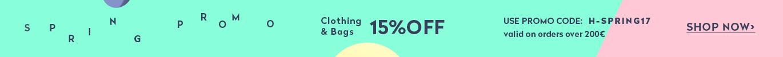 SPRING Promo -15%